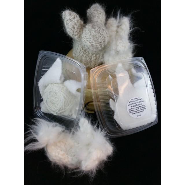 Baby Bunny Kit - Blended Angora