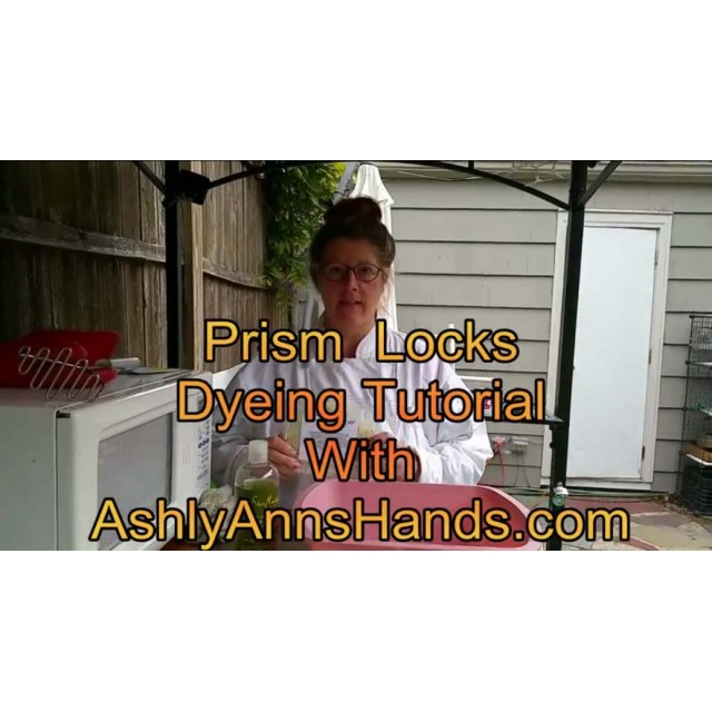Prism Locks Dyeing Tutorial